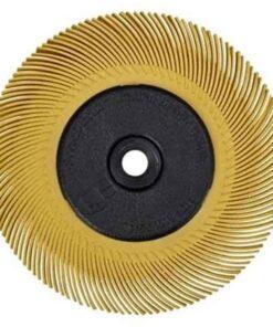 3m bristle četka 150mm p80 žuta
