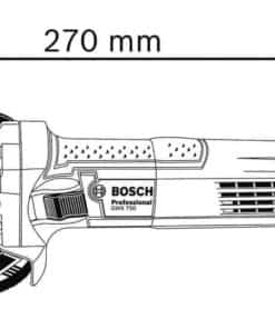 Bosch kutna brusilica 750W GWS 750-115 Professional