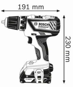 Bosch aku odvijač GSR 180-Li 2Ah