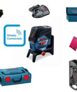 Bosch križni nivelir laserski GCL 2-50 Professional+RM2 nosač