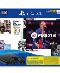 PlayStation 4 500GB F Chassis Black + FIFA 21 + FUT VCH + PS Plus 14dana + Dualshock Controller v2