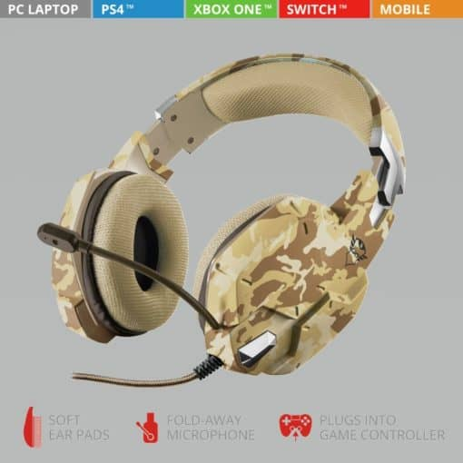 GXT 322D Carus Gaming Headset
