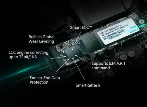 APACER SSD 256GB M.2 PCIe