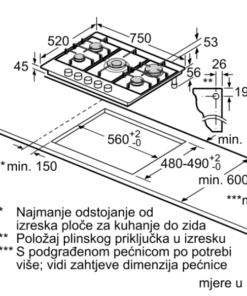 BOSCH plinska ploca PCR7A5M90
