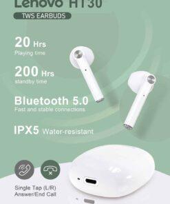 Lenovo HT30 WHITE slušalice