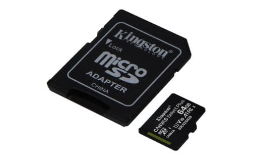 Kingston MicroSD 64GB Class 10