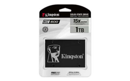 """Kingston SSD 1024GB 2.5"""" KC600"""