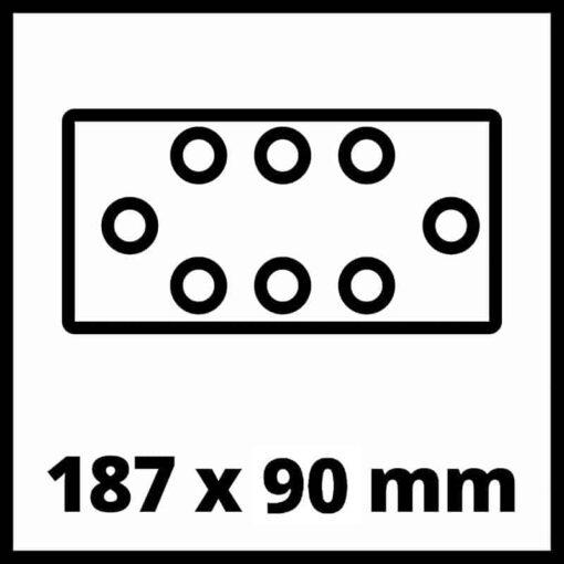 Einhell aku vibraciona oscilirajuća brusilica Power X-Change TC-OS 18/187 Li Solo