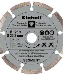 Einhell ugaona kutna brusilica TE-AG 125/750